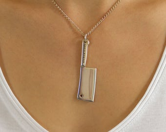 Meat Cleaver Pendant