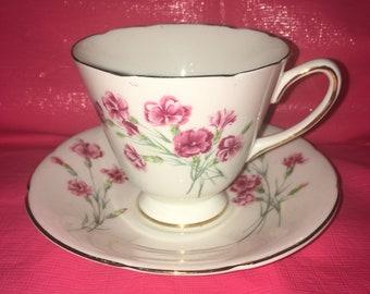 Old Royal Bone China Tea Cup and Saucer
