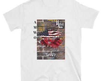 AMWO T-shirt - USA/Turkey