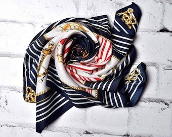 Nautical Print Scarf