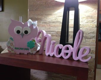 Baby Names for Decoration