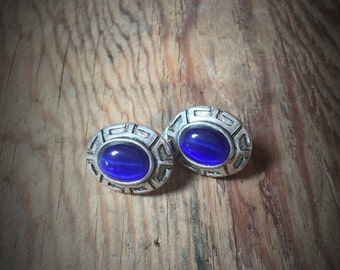 Vintage Blue Clips