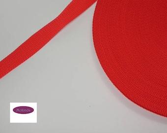 Webbing 30 mm Red