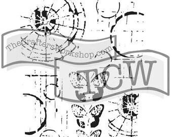 TCW Crafter's Workshop MINI SPECIMENS 6x6 Stencil Paint Mixed Media TCW454s
