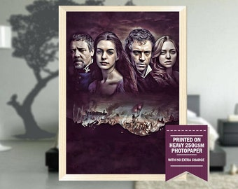Les Misérables, fanart, les misérables poster, les misérables print, les misérables movie, les misérables fanart, cool art, cool posters
