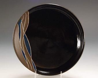 Pottery plate, Ceramic dessert plate, Ceramic plate, Handmade dish, Handmade plate, Dessert plate, Stoneware plate, Stoneware dish, Plate