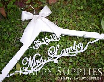 Bridesmaid Dress Hanger, Wedding Hanger, Bridal Hanger, Personalized Custom Wedding Hanger, Mrs Hanger, Mrs Name Hanger, Engagement Gift