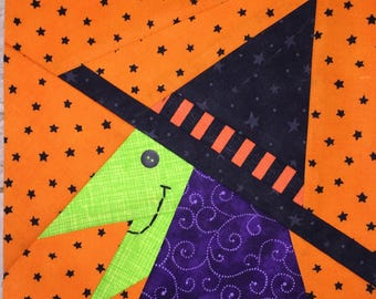Bewitched Paper Pieced Pattern in PDF