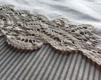 Doily lace, handmade