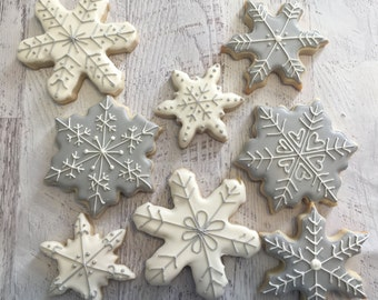 Winter Wonderland Sugar Cookies