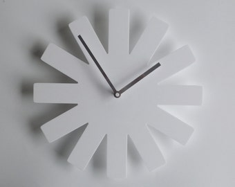 Objectify Asterisk Outline Wall Clock