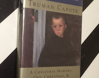 A Christmas Memory, One Christmas, & The Thanksgiving Visitor by Truman Capote (1996) hardcover book
