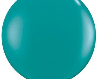 """36"""" balloon- Jewel Teal"""