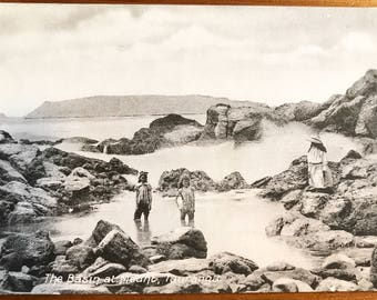 New Zealand vintage postcard circa 1850-1900s