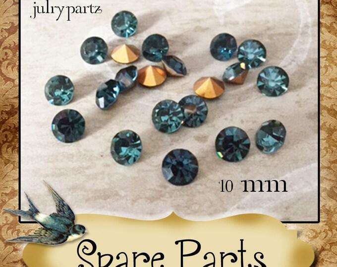 SPARE PARTS•Earring Parts•Necklace Parts•Vintage Components•Set 15