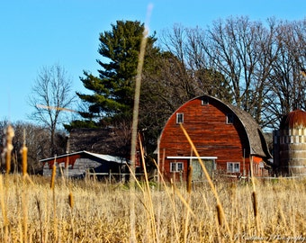 Barn at the End of the Harvest
