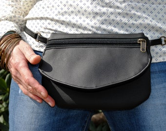 Fanny Pack-Bag Urban Boho model Polyblack