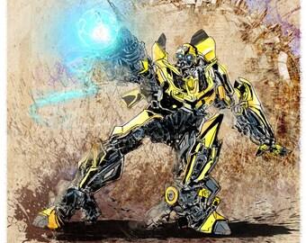 Bumblebee - Transformers Print
