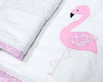 Flamingo Lathopana, Flamingo christening, Greek baptism, Flamingo Ladopana, Oil set, Oil sheet, Christening lambada, Christening candle