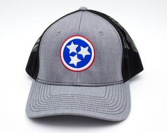 Grey/Black Tristar Trucker