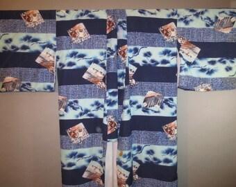 SALE***Vintage Rayon Kimono // Fully Lined, Rayon