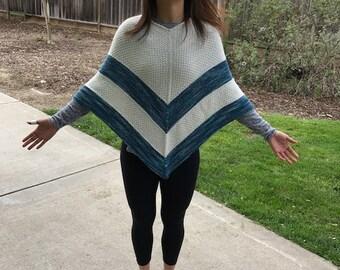 Women's Poncho / Poncho Sweater / Shawl