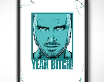 Breaking Bad > Pinkman-70x50 cm-sheet poster HQ exclusive/exclusive poster High Quality Printing-Aaron Paul Heisenberg TV Series