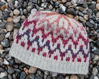 Hat handknit size medium woman
