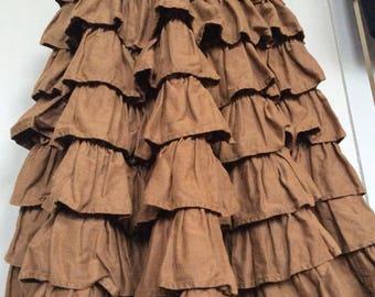 Vintage Katharine Hamnett Rah Rah Buffalo Girls Skirt