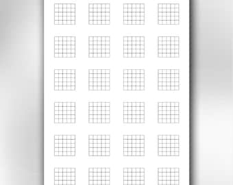 A4 printable guitar blank chord chart diagrams. Songwriting tool for guitar players. Instant download and Printable PDF.