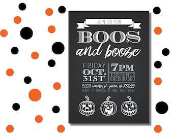 Custom Halloween Invitation