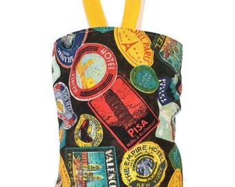 Car Trash Bag//Travel Stickers//Car Waste Bag//Waterproof Trash Bag//Litter Bag for Car//Hanging Trash Bag//Car Waterproof Waste Bag