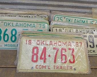 Set of 50 License Plates Lot Vintage Automobile Car Truck Tags IT,  Vintage License Plates, Vintage Car Tags, Truck Tags, License Plate Art