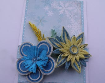 Card quilling flowers 2