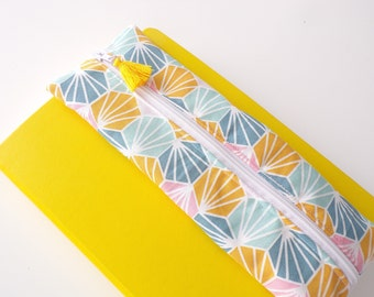 flat clutch for bullet journal or diary A5