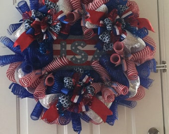 American holiday  wreath