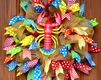 Lobster or Crab Wreath - Example Only