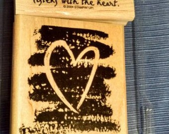 Stampin Up - Listen with your heart retired stamp set