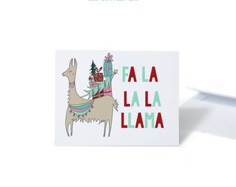 Funny Holiday Card Set