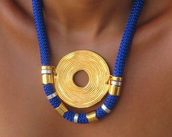 Re Necklace -necklaces for women - gift women - gift for her - ethnic necklace - rope necklace
