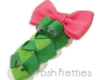 Gator Hair Bow Clippie - The Original Olivia Gator