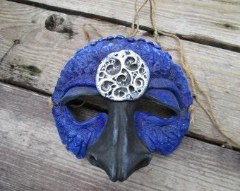 Strange bird, masquerade, Dragon mask, mardi gras mask, dragon mask, ren faire mask, weird dragon mask, custom made, labyrinth