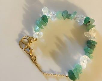 Crystal jaded bracelet