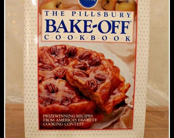 The Pillsbury Bake-Off Cook Book, Vintage Cook Book, Vintage Recipes, Prizewinning Recipes, Baking, Cooking, Kitchen Fun, Pillsbury Products
