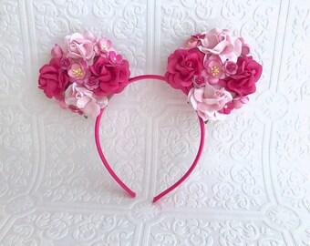 The Pink Minnie Garden Goddess Ears