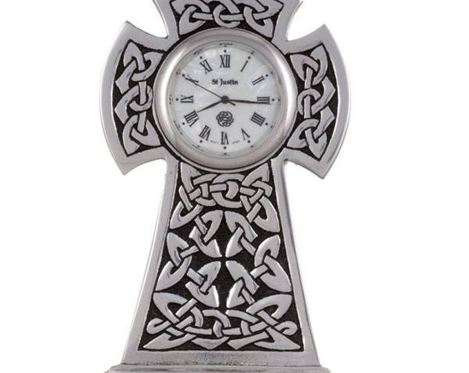 Knox cross clock- Hand Made and Design in UK-