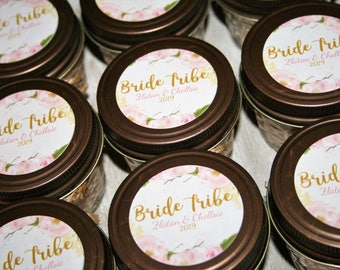 Personalized Wedding Candle Gift | Bridesmaid Candle, Maid of Honor Candle, Bridal Party Candles, Wedding Favor Candles, Bridesmaid Proposal