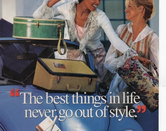 Virginia Slims Cigarettes Vintage Print Ad 1994