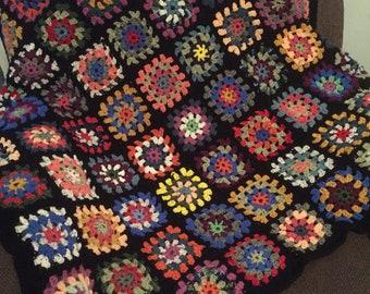Roseanne's Granny Square Afghan