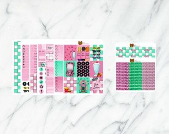 Pink Ladies Planner Sticker Erin Condren